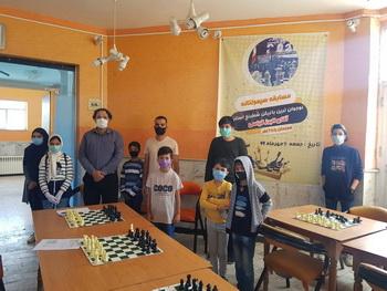 دوازدهمین سیمولتانه استان با بازی همزمان یک نوجوان :البرز قیاسی ۱۱ مهر ماه ۱۳۹۹